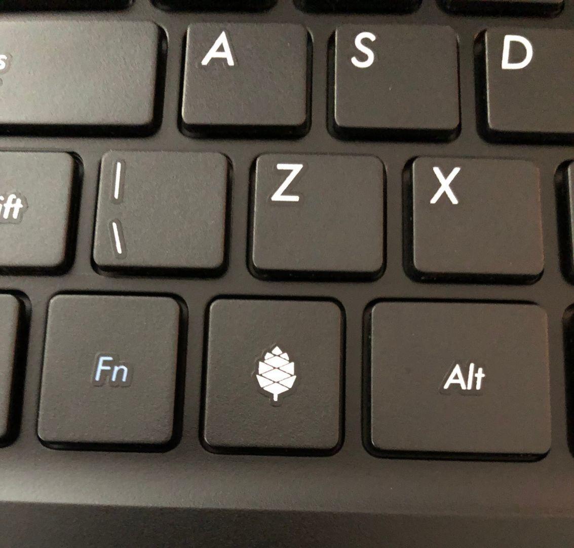 Pinebook Pro keyboard